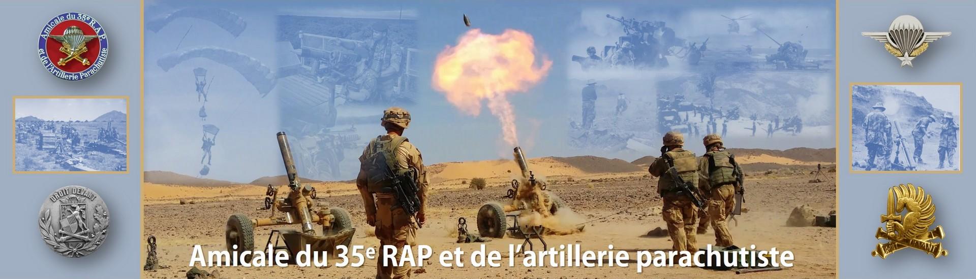 Amicale du 35e RAP et de l'artillerie parachutiste
